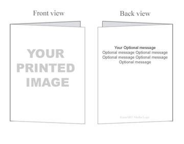 Custom greeting cards postcards photo cards picture cards make 5 x 7 folded greeting cards m4hsunfo